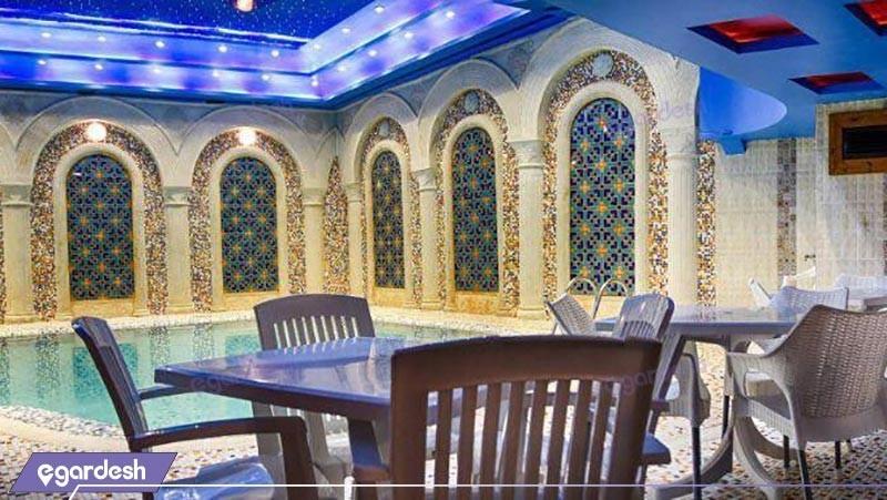 استخر هتل کریم خان زند
