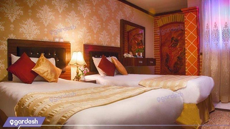 اتاق سه تخته هتل کریم خان زند