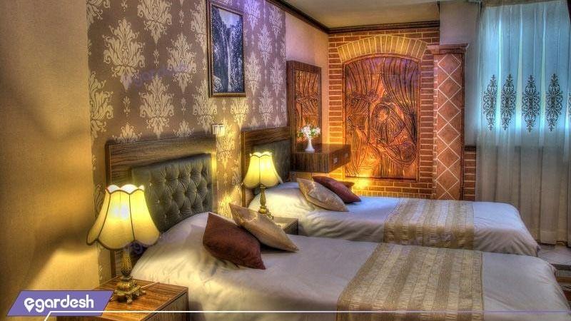 اتاق دو تخته توئین هتل کریم خان زند