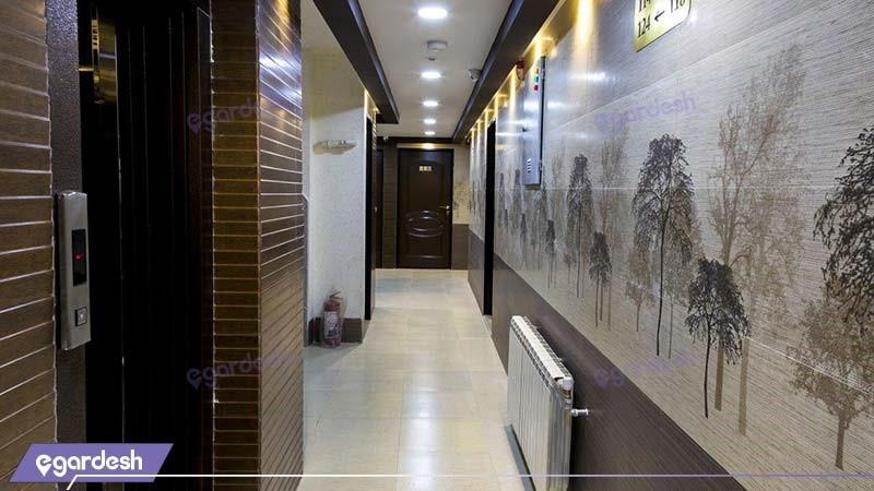 راهرو هتل کیوان شیراز