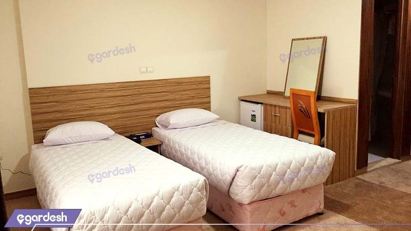 اتاق دو نفره هتل نصیرالملک