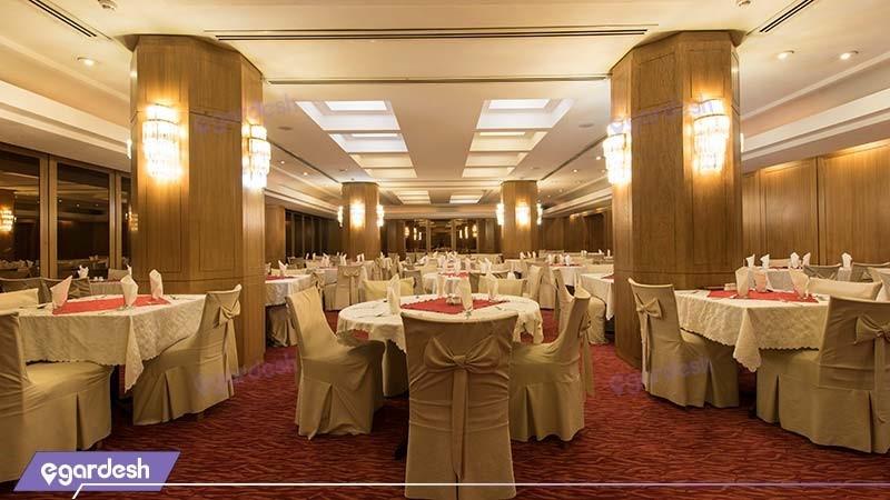 سالن پذیرایی هتل پارس شیراز