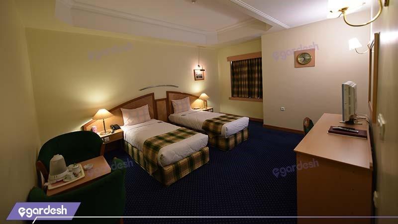 اتاق کانکت دو نفره هتل پارس شیراز
