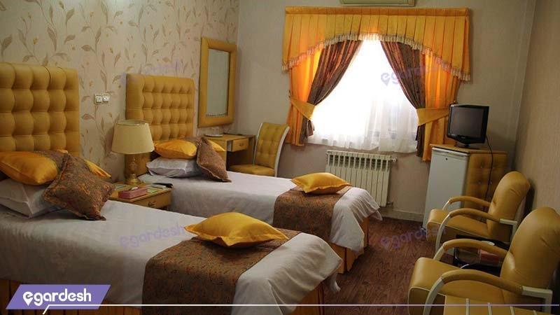 اتاق دو تخته هتل پارسه