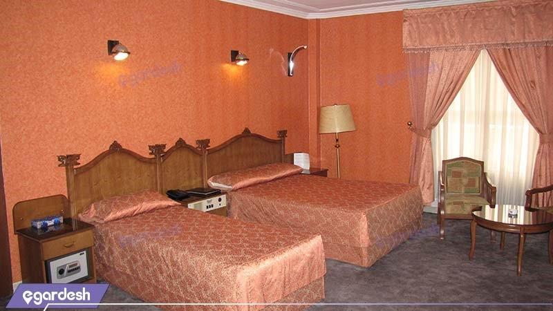 اتاق سه تخته هتل پرسپولیس