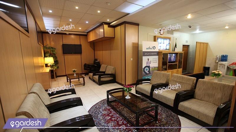 لابی هتل ساسان