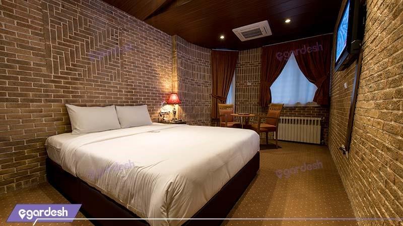 اتاق دبل هتل ستارگان