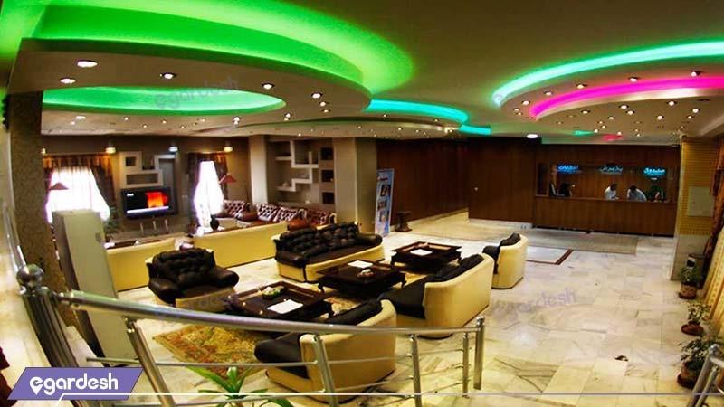 لابی هتل آپارتمان شمس