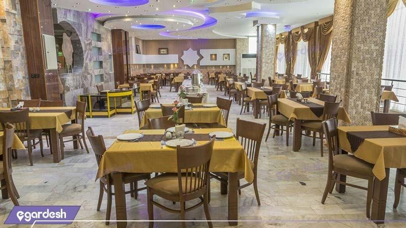رستوران هتل آپارتمان شمس