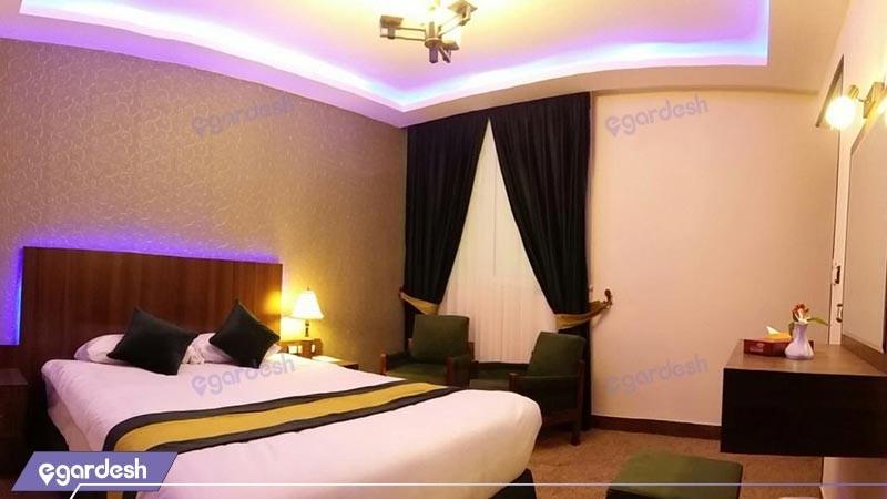 اتاق دو تخته دبل هتل تالار