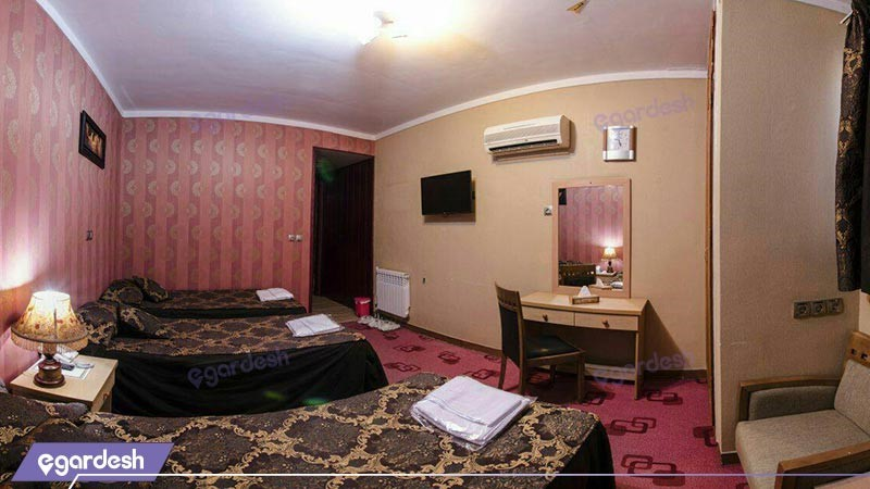 اتاق چهار تخته هتل تالار