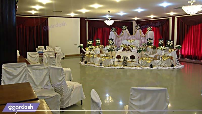 سالن پذیرایی مجتمع جهانگردی شیراز