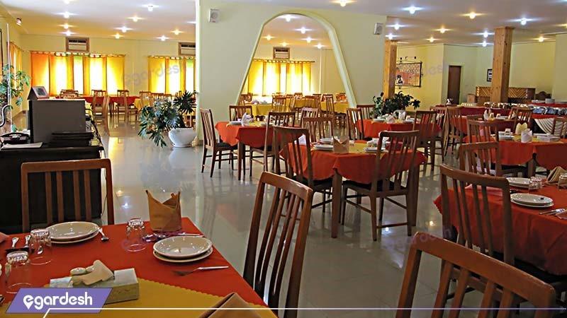 رستوران مجتمع جهانگردی شیراز