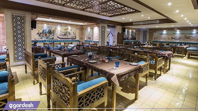 رستوران سنتی هتل زندیه