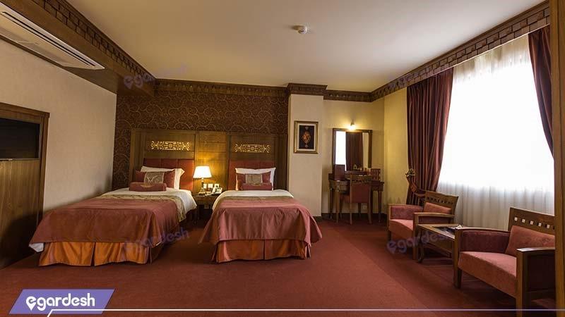اتاق دو تخته هتل زندیه