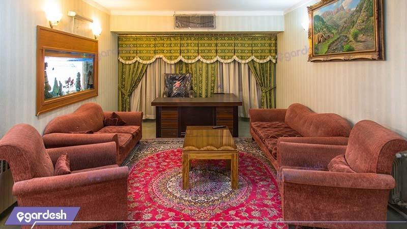 لابی هتل جهانگردی سیرجان