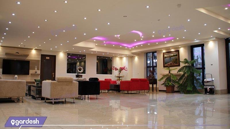 لابی هتل اهراب