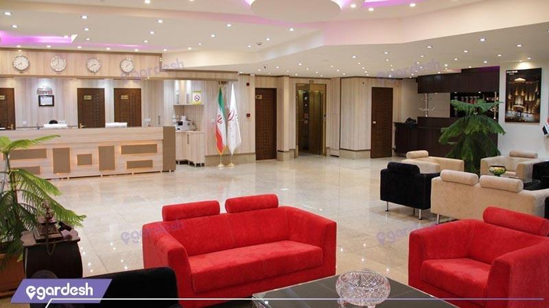 پذیرش هتل اهراب