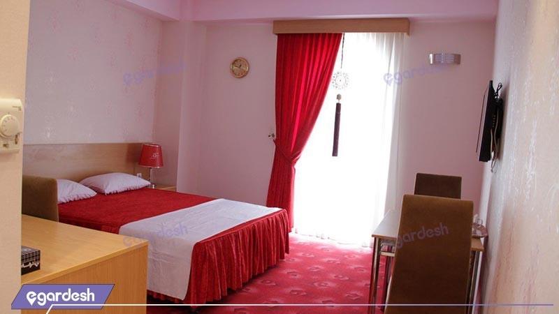 اتاق دو تخته دبل vip هتل اهراب