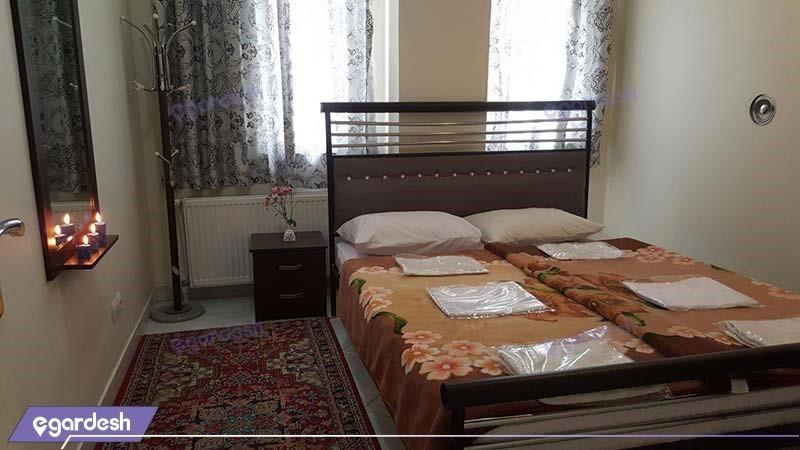 سوئیت چهار نفره هتل آپارتمان ارس