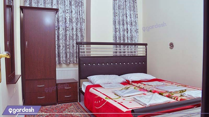 سوئیت پنج نفره هتل آپارتمان ارس