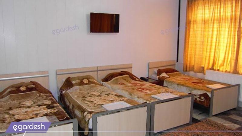 اتاق چهار تخته هتل آذربایجان