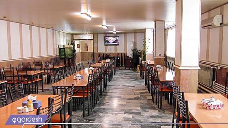 رستوران هتل آذربایجان