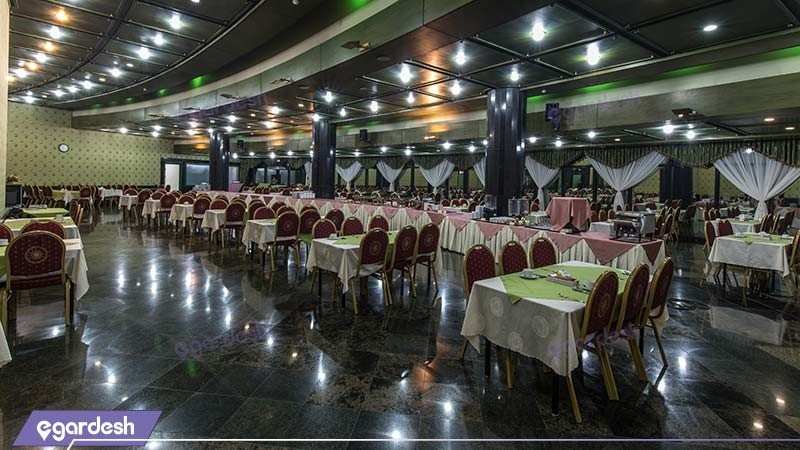 رستوران هتل پارس ائل گلی