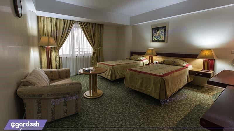 اتاق دو تخته هتل پارس ائل گلی
