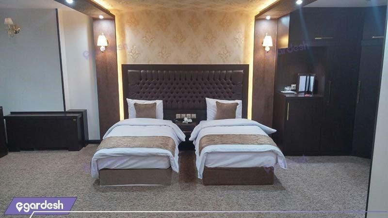 اتاق دو نفره هتل بین المللی گسترش