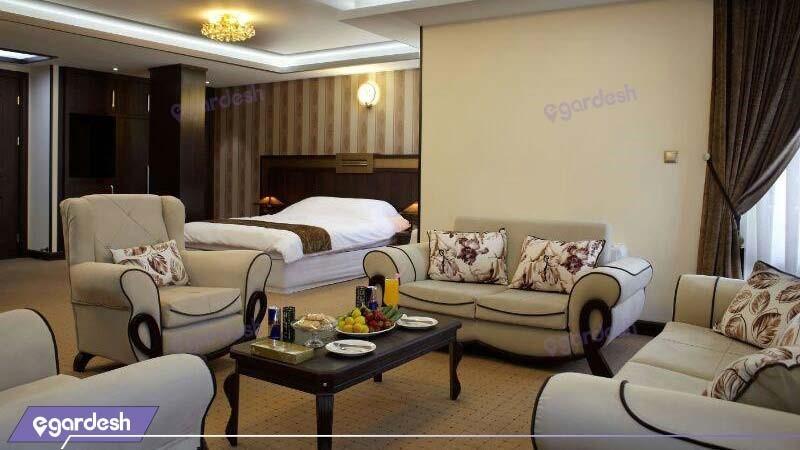 اتاق چهار نفره vip هتل بین المللی گسترش