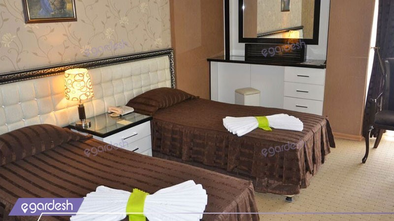 اتاق سه تخته هتل بین المللی