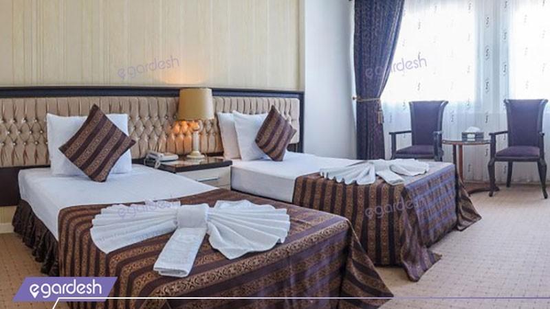 اتاق دو تخته هتل بین المللی