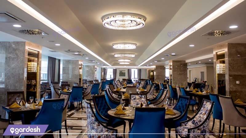 رستوران هتل کایا لاله پارک