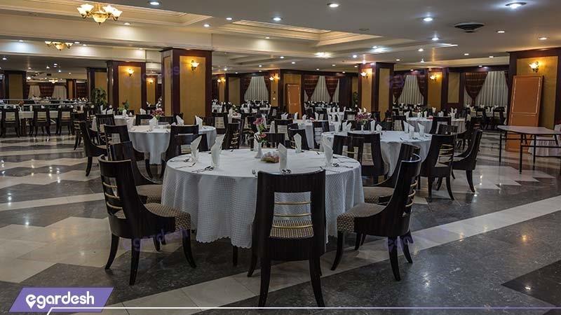 رستوران کاکتوس هتل بین المللی شهریار
