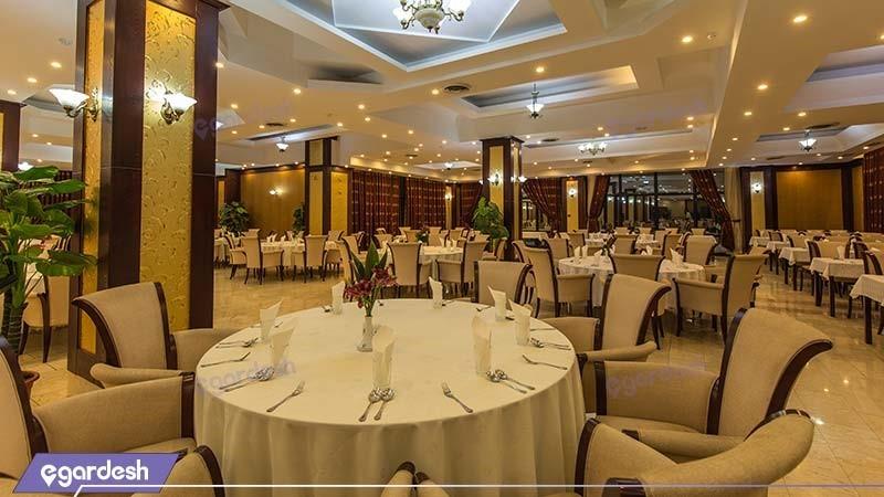 رستوران چشم انداز هتل بین المللی شهریار