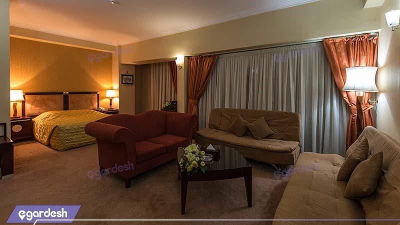 سوئیت معمولی هتل بین المللی شهریار