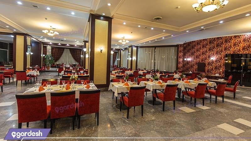 رستوران رز هتل بین المللی شهریار