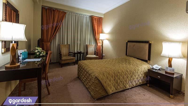 اتاق یکنفره هتل بین المللی شهریار