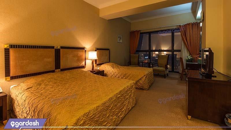 اتاق سه نفره هتل بین المللی شهریار