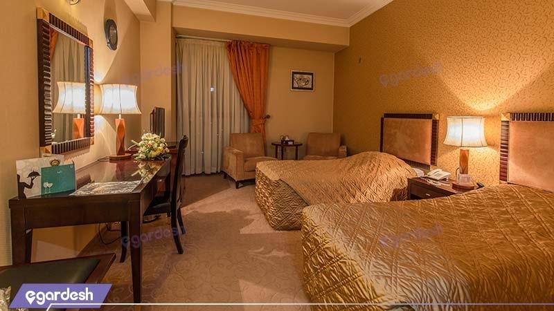 اتاق دو نفره هتل بین المللی شهریار