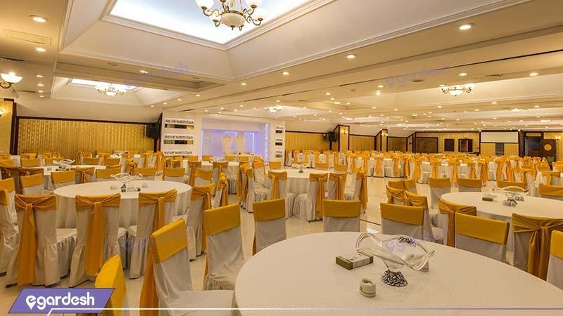 سالن پذیرایی یاقوت هتل بین المللی شهریار