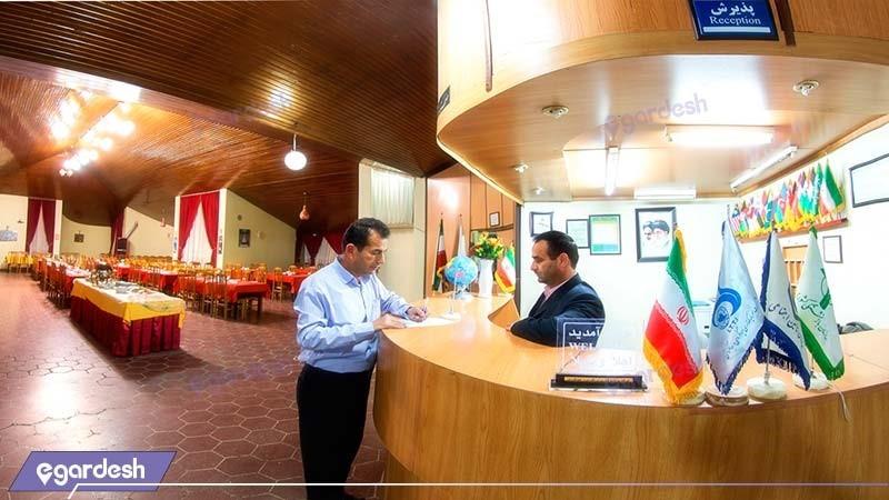 پذیرش مهمانسرای جهانگردی تاکستان
