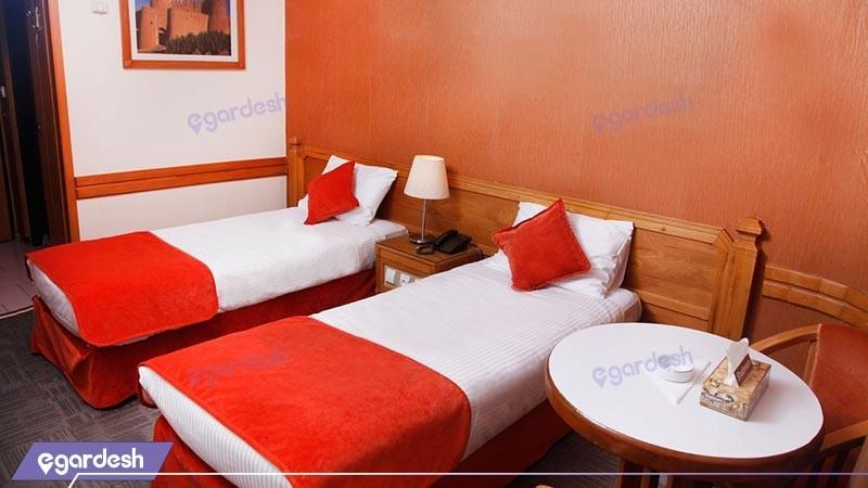 اتاق دو تخته توئین هتل البرز
