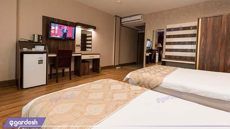 اتاق سه نفره هتل بین المللی بوتیک آرامیس