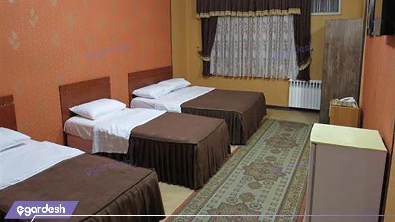 سوئیت چهار تخته هتل آرمان
