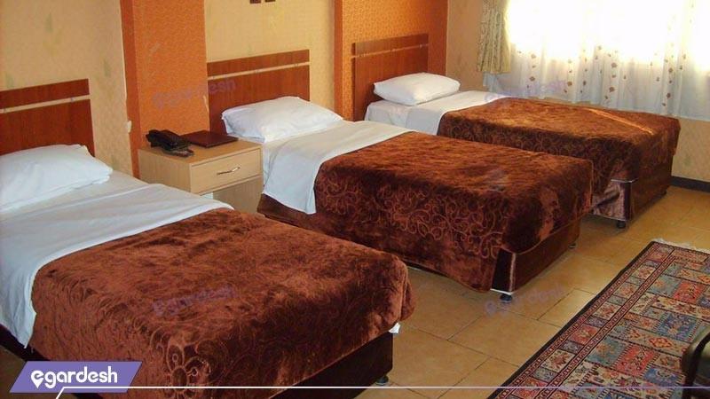 اتاق سه تخته هتل آرمان