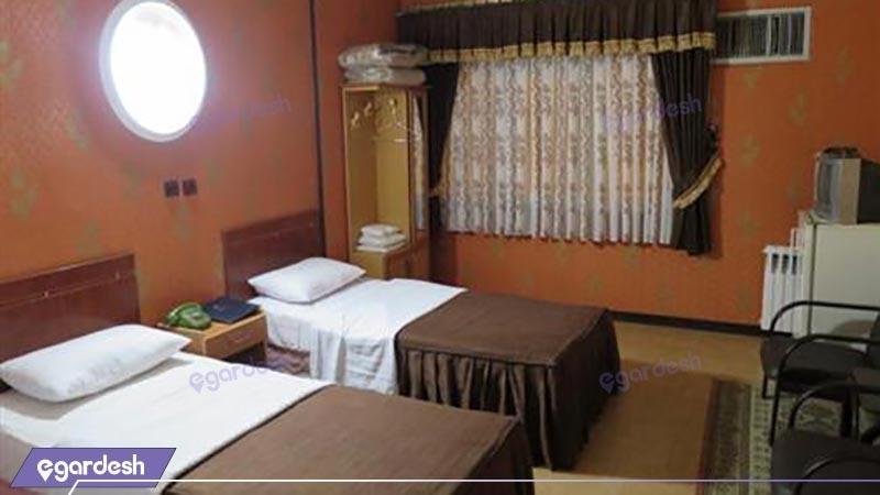 اتاق دو تخته توئین هتل آرمان