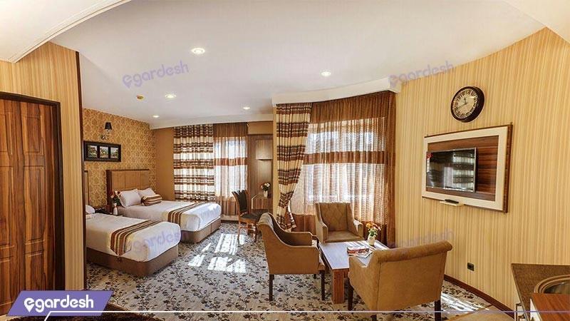 اتاق دو تخته توئین هتل بهار