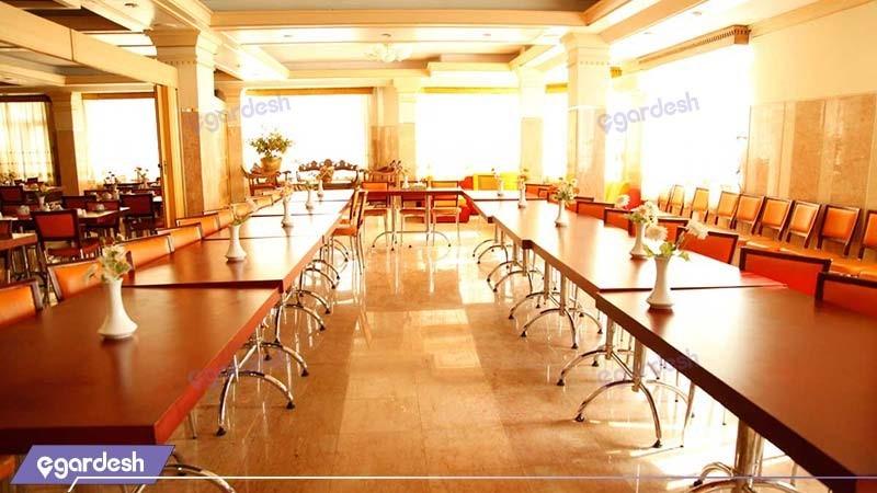 رستوران هتل بلور